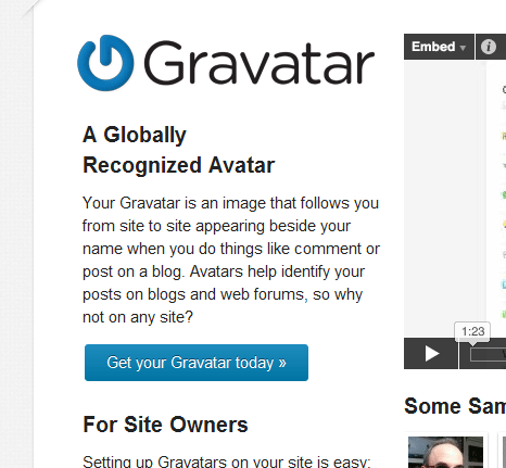 get your gravatar today